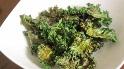 Paleo with a Purpose: Spicy Kale Chips
