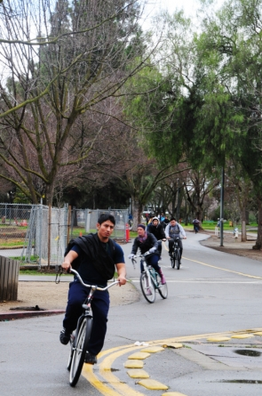 Davis bikes to work the most, survey says
