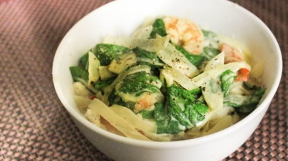 Paleo with a Purpose: Green Curry with Shrimp