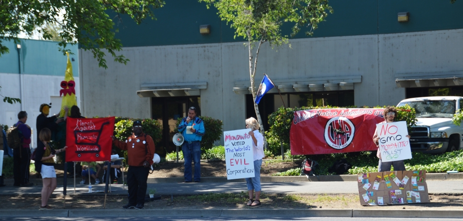 Movement attempts shutdown of Monsanto office in Davis