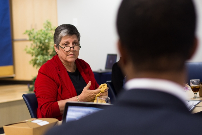 Napolitano to allocate $15M to student programs
