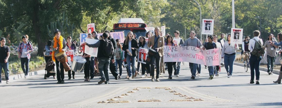 UC president visits Davis campus