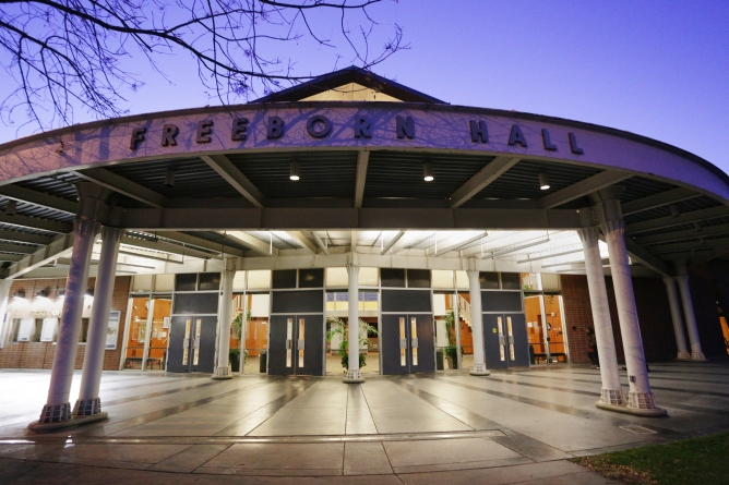 Freeborn Hall to be closed summer 2014