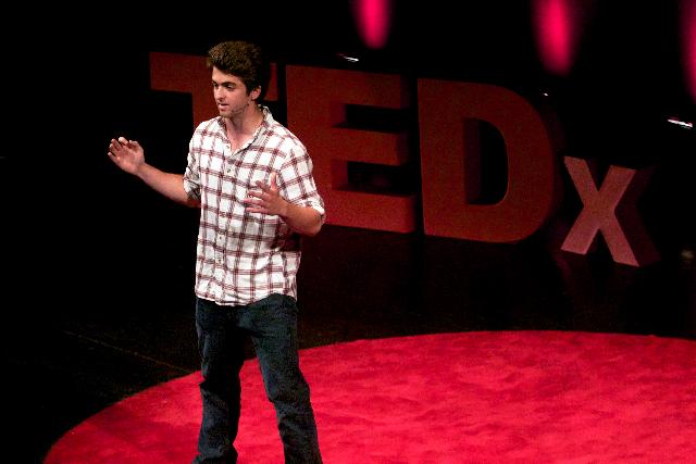 TEDxUCDavis features freshman student speaker