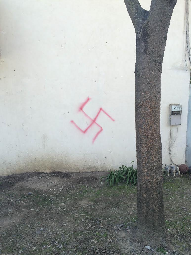 Swastikas spray painted on AEPi fraternity house