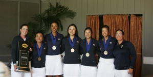 Huge victory at Big West for women's golf