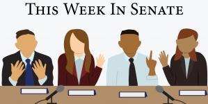 This week in senate