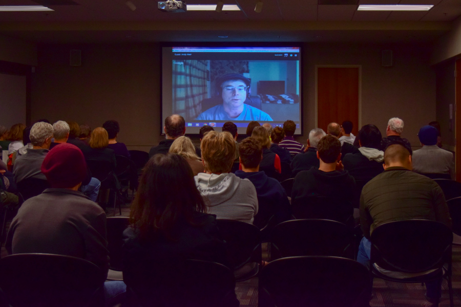 Davis Public Library holds streaming author visit with Andy Weir