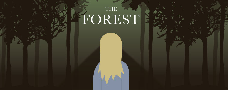 The Forest review: Interesting concept, disappointing movie