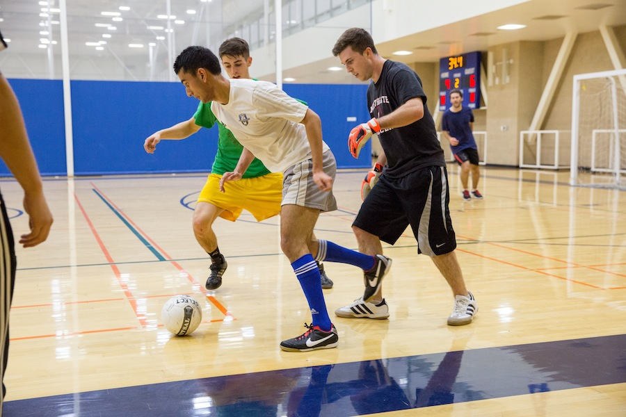 Sports: intramural style