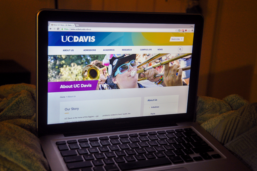 UC Davis revamps website design