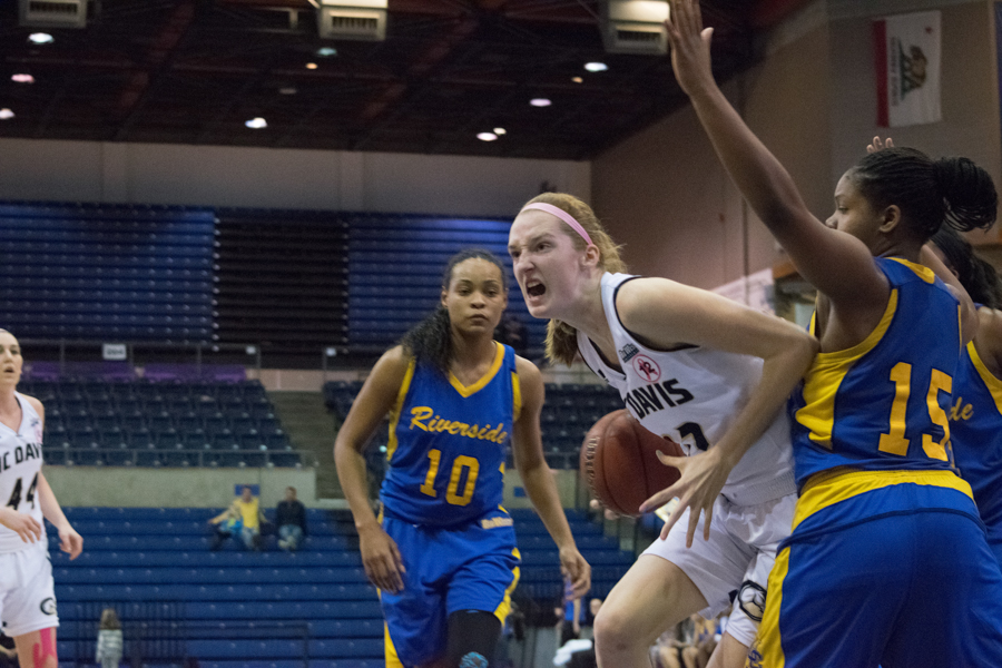 Women's basketball gives up win to UC Riverside - The Aggie
