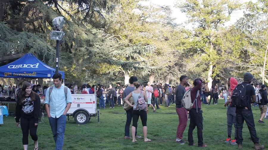 ASUCD's Block Party was held on Feb. 25, 2016. (AGGIE STUDIOS / COURTESY)