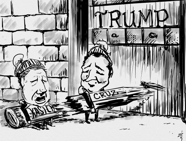 Shuyi Qi Cartoon: A broken alliance