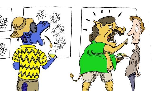Humor: Fear and Loathing in Las Davis