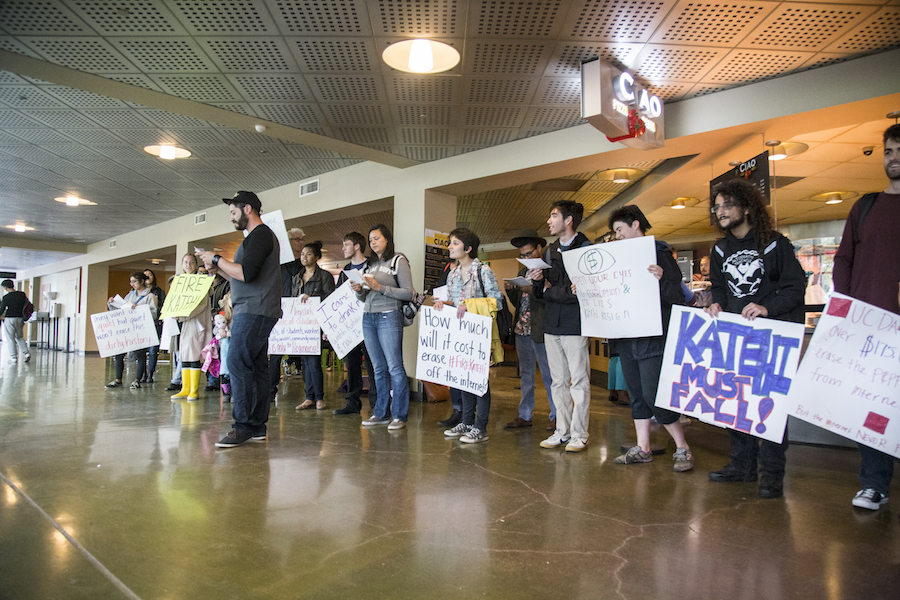 Protesters demanding UC Davis chancellor's resignation continue movement after ending 36 day sit-in