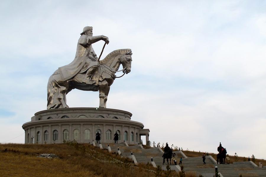 Get a little Genghis Khan