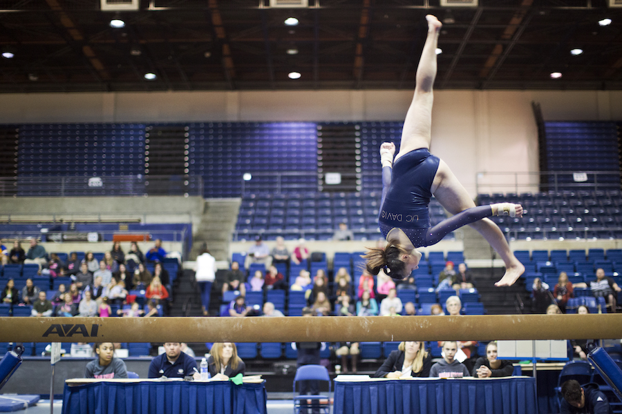 Gymnasts compete in Regionals