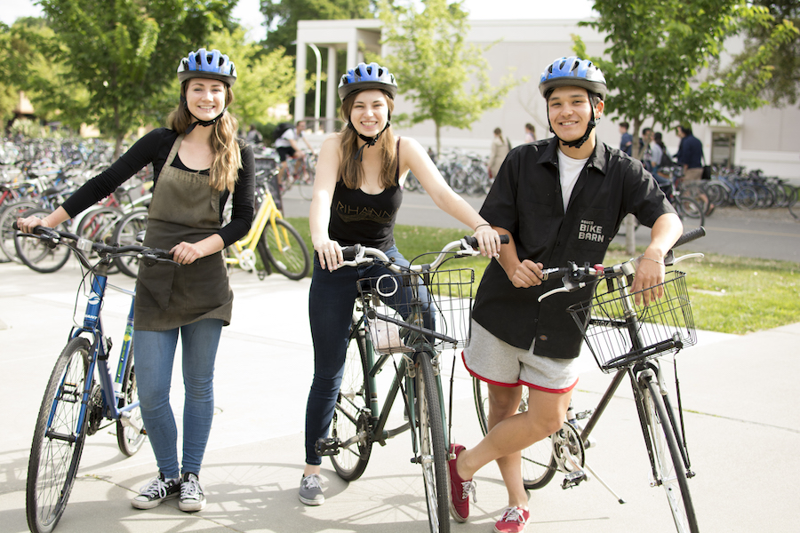 UC Davis launches bike helmet promotion campaign