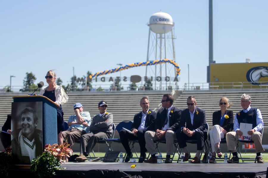 UC Davis Athletics holds tribute for former football coach Jim Sochor