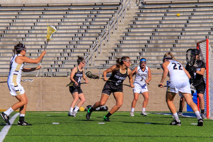 Buffs stampede UC Davis women's lacrosse