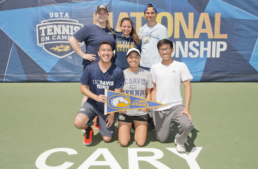 Club tennis team finishes season ranked 19 in nation