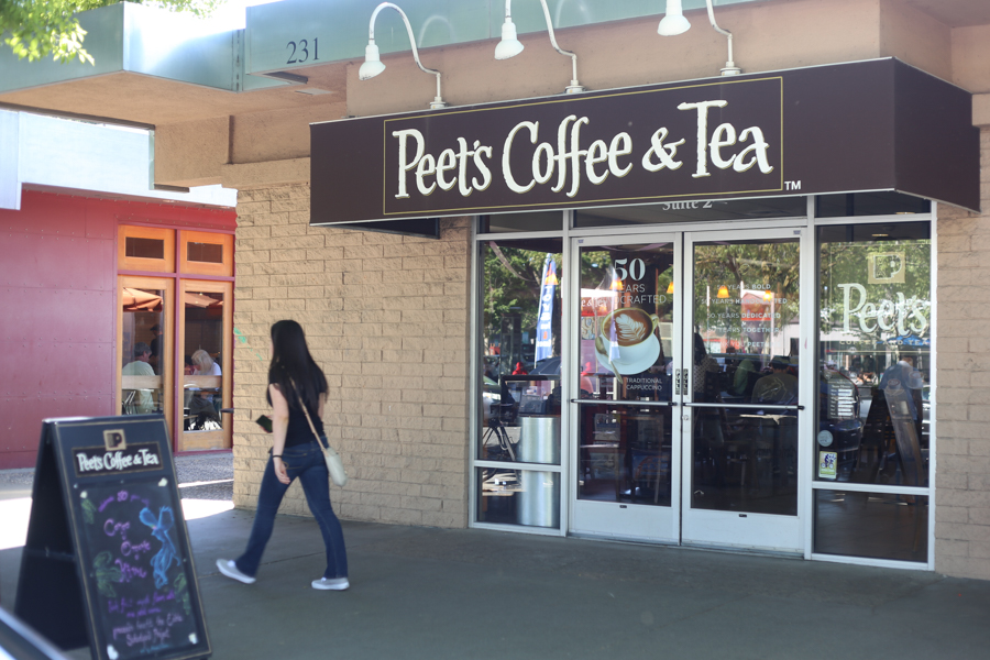 Starbucks and Peet's locations vandalized