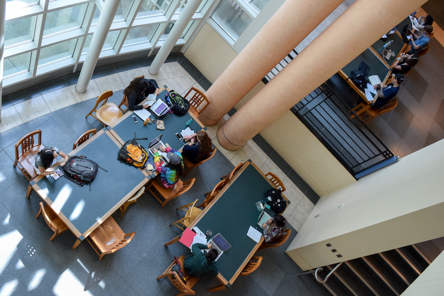 Best Place to Study: Shields Library