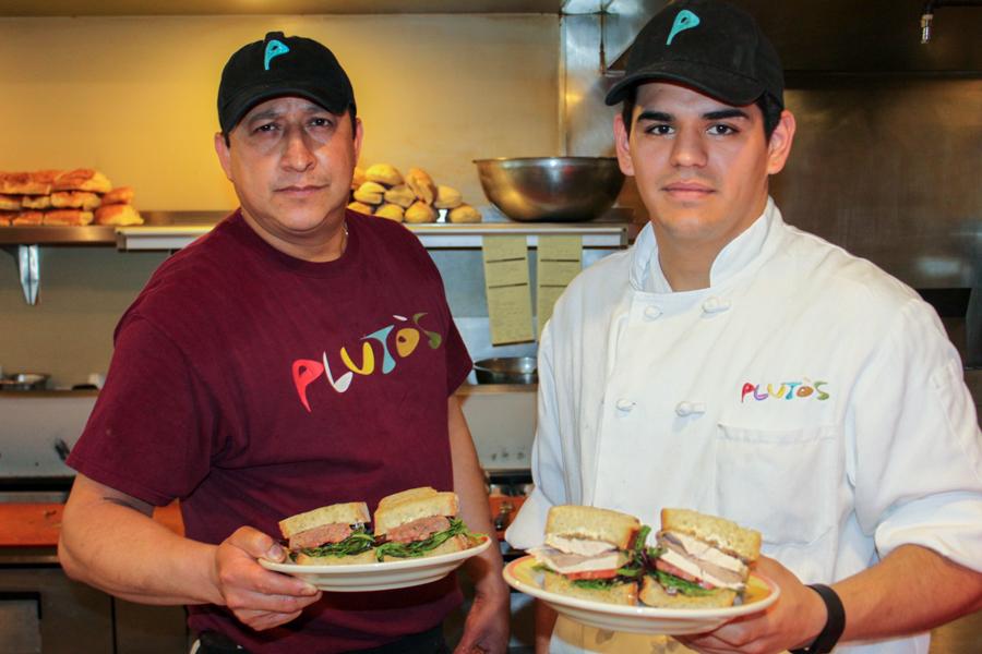 Best Sandwich: Pluto's