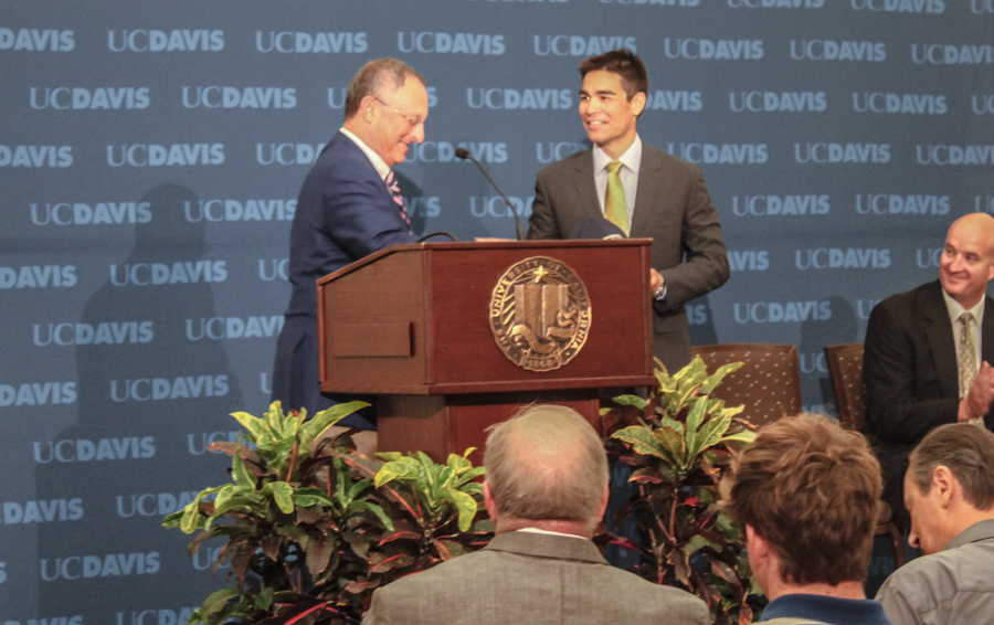 Dr. Kevin Blue named new UC Davis athletics director