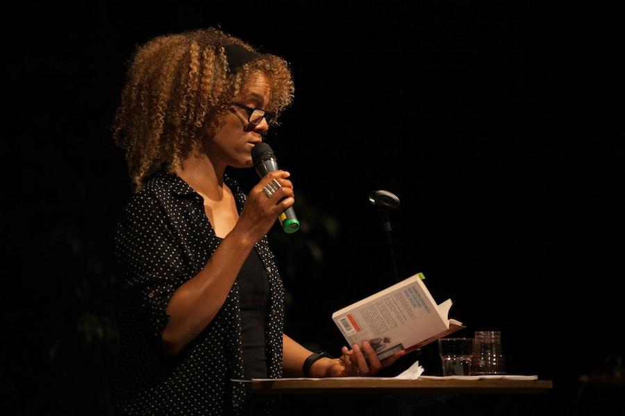 British writer Bernadine Evaristo, one of the authors featured in the Breaking Ground tour. (KRISTIANSTAD BOKFESTIVAL 2015 / FLICKR)