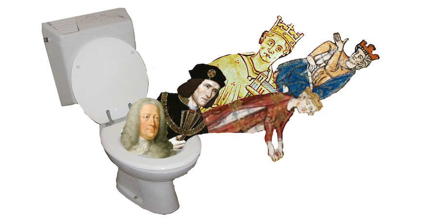 Humor: Five English Kings with butt-related deaths