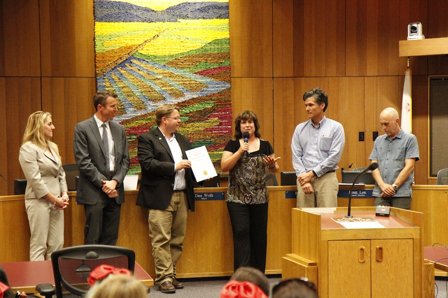 Davis City Council recognizes social justice advocates
