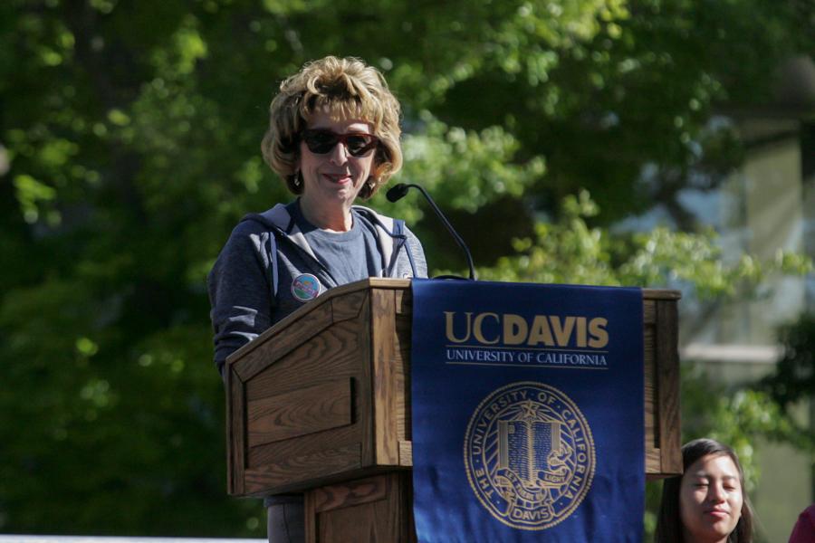 Humor: Former Chancellor Katehi set to speak at graduation