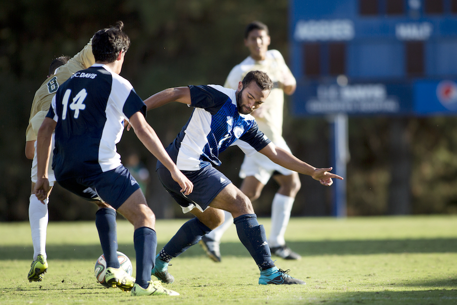 UC Davis men's soccer falls to the Cardinal