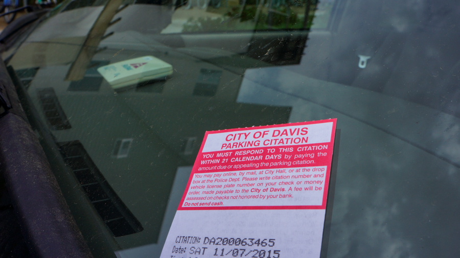 Parking violation fees increase in Davis