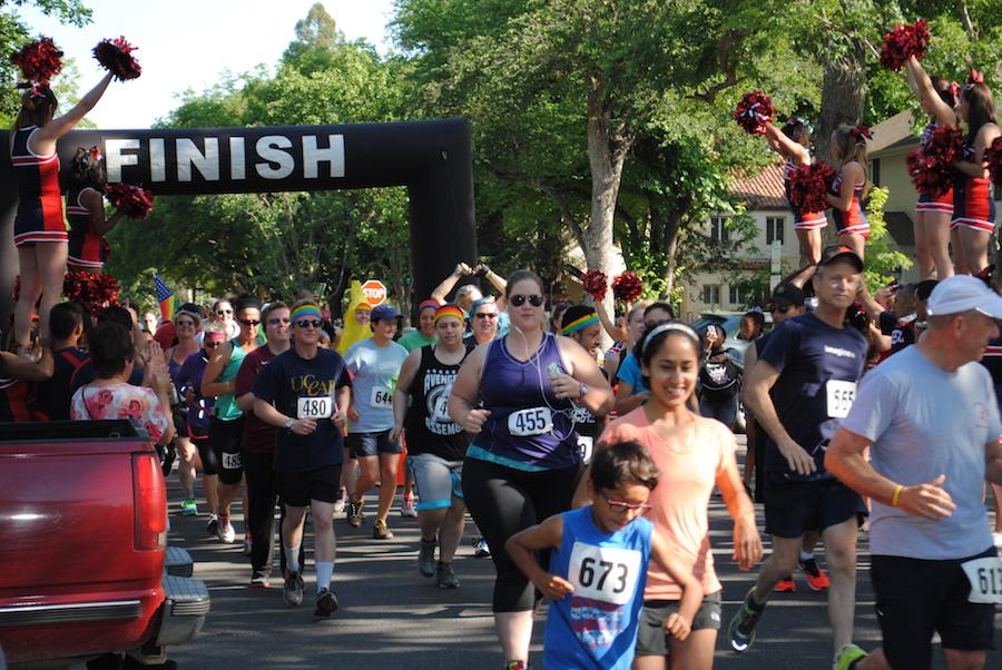Pride Run returns to Davis