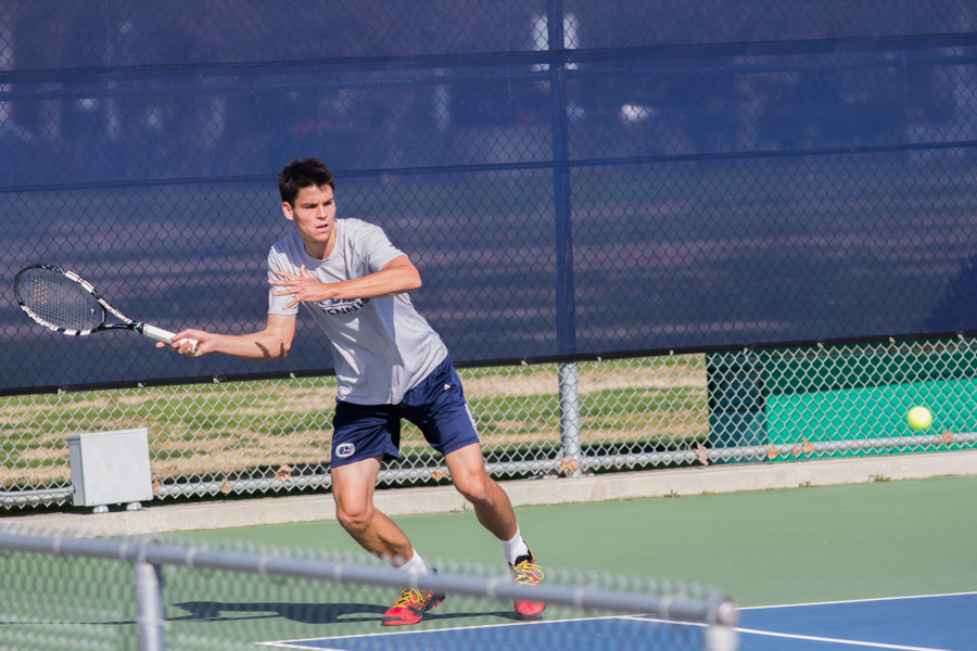 Men's tennis welcomes incoming recruits for next season