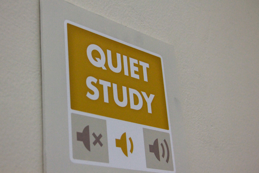 """Humor: Quiet study area in Shields Library declared """"best place to have an obnoxiously loud conversation"""""""