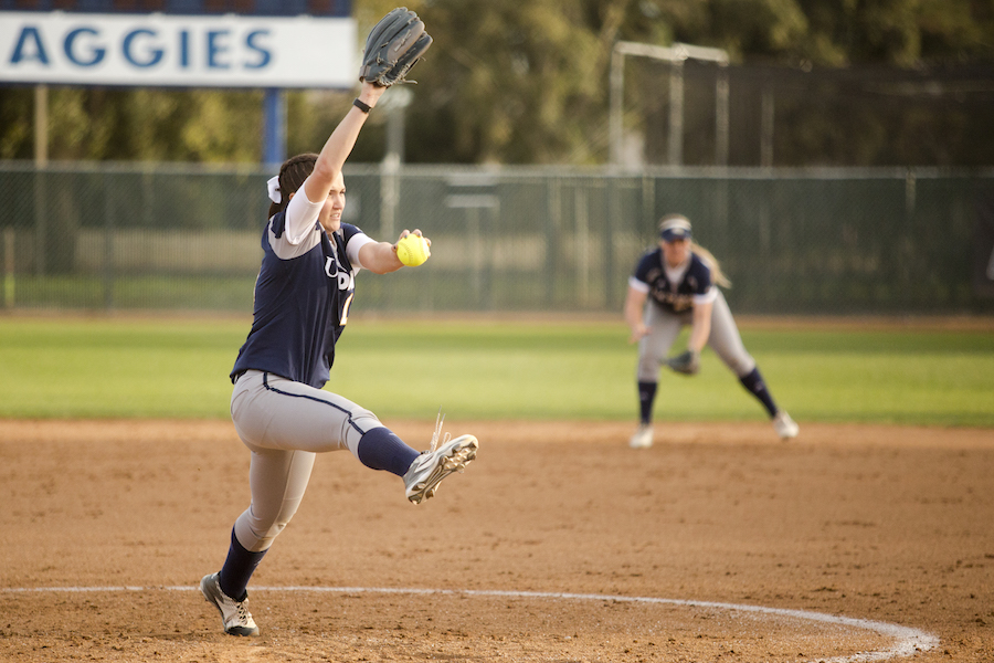 UC Davis softball swept by Gauchos; honors seniors
