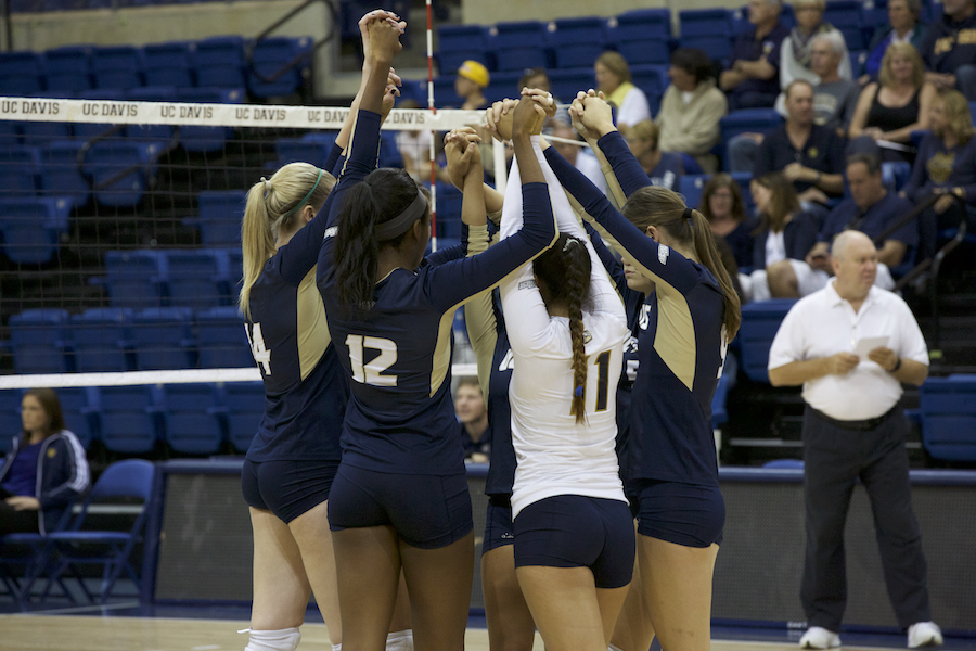 Behind the scenes with the UC Davis women's volleyball team