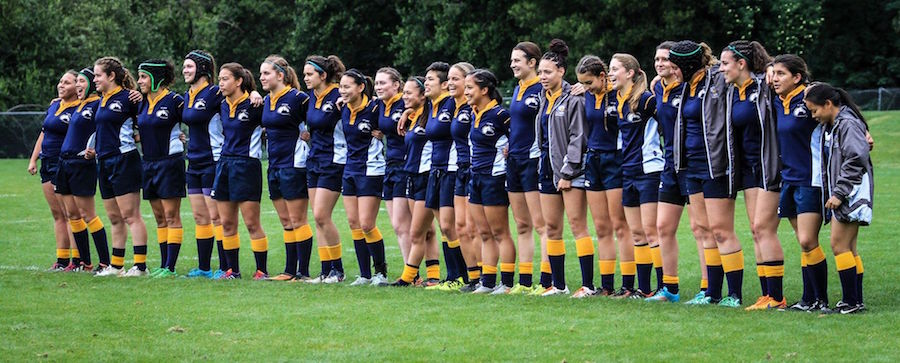 Women's Club Rugby leaves it all on the pitch