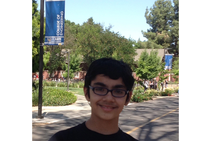 12-year-old child prodigy Tanishq Abraham accepted into UC Davis