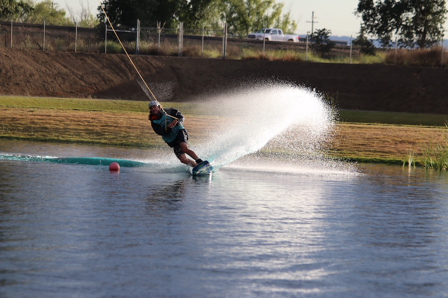 Wakeboarding team breaks Guinness World Record in Woodland