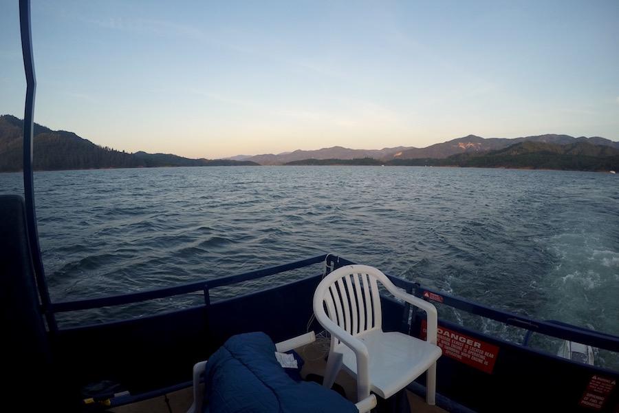 Had a relaxing weekend at Houseboats on Lake Shasta. (NADIA DORIS)