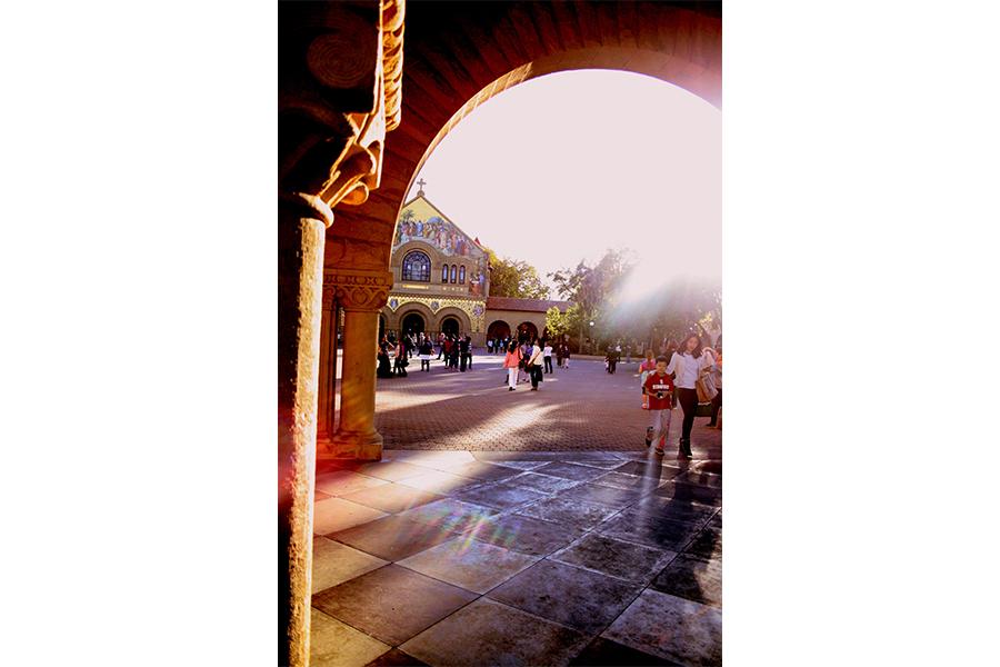 Walking through Stanford campus and enjoying Palo Alto. (DEBPARNA PRATIHER)