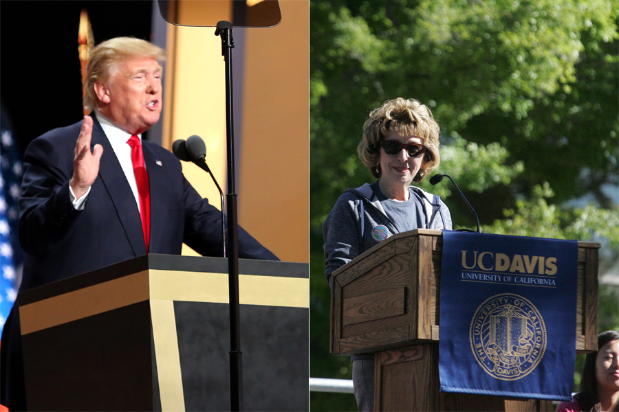 Anti-Katehi rhetoric echoes Trump supporters