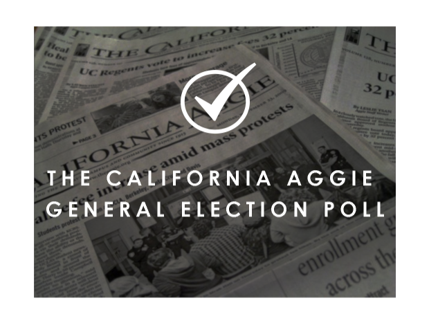 The California Aggie General Election Survery
