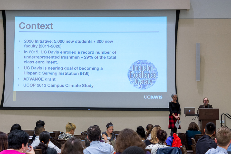 UC Davis Diversity and Inclusion Committee holds follow up community engagement forum