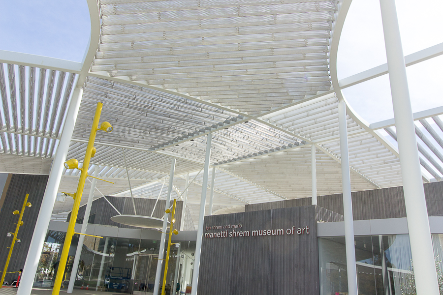 The grand opening of Manetti Shrem Museum
